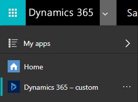 Hiding the 'Default App' in D365 App Switcher
